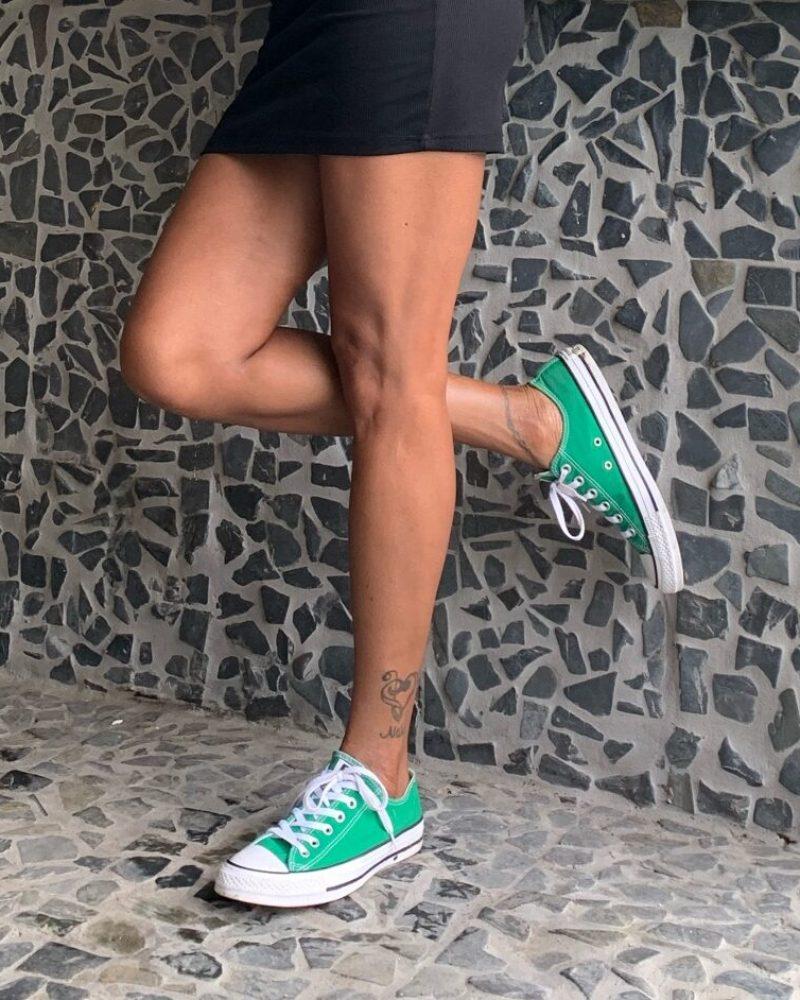 Converse Lo Green Shoes